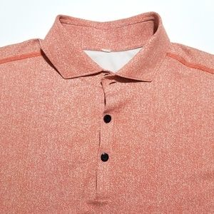 LULULEMON ATHLETICA Stretch Polo Shirt